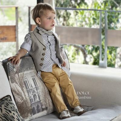 Βαπτιστικό Ρούχο για Αγόρια Dolce Bambini 2530