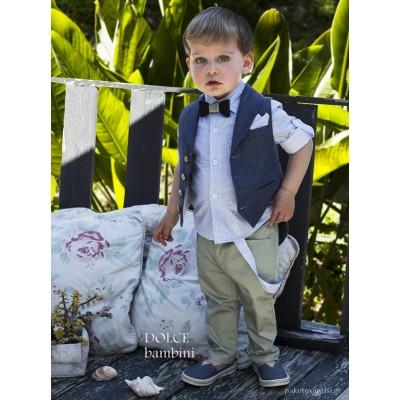 Βαπτιστικό Ρούχο για Αγόρια Dolce Bambini 2534