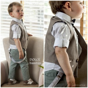 Βαπτιστικό Ρούχο για Αγόρια Dolce Bambini 2535