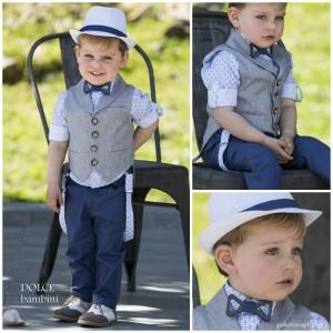Βαπτιστικό Ρούχο για Αγόρια Dolce Bambini 2547