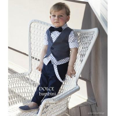 Βαπτιστικό Ρούχο για Αγόρια Dolce Bambini 2553