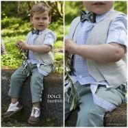 Βαπτιστικό Ρούχο για Αγόρια Dolce Bambini 2555