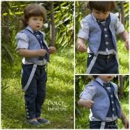 Βαπτιστικό Ρούχο για Αγόρια Dolce Bambini 2556
