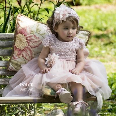 Βαπτιστικό Φόρεμα Dolce Bambini 405-8