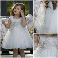 Βαπτιστικό Φόρεμα Dolce Bambini 454-1