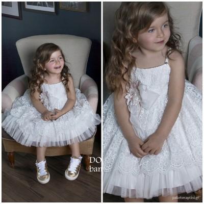 Βαπτιστικό Φόρεμα Dolce Bambini 456-1