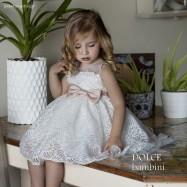 Βαπτιστικό Φόρεμα Dolce Bambini 458-1