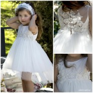 Βαπτιστικό Φόρεμα Dolce Bambini 460-1