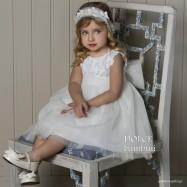 Βαπτιστικό Φόρεμα Dolce Bambini 466-1