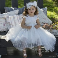 Βαπτιστικό Φόρεμα Dolce Bambini 486-1
