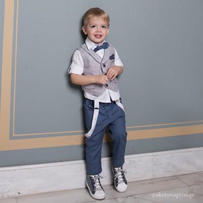 Βαπτιστικό Κοστούμι για Αγόρια Dolce Bambini 3043