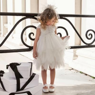 Βαπτιστικό Φόρεμα Dolce Bambini 6001