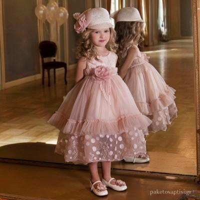 Βαπτιστικό Φόρεμα Dolce Bambini 6010