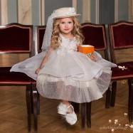 Βαπτιστικό Φόρεμα Dolce Bambini 6018