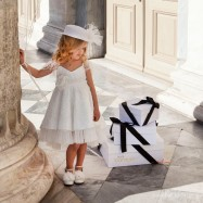 Βαπτιστικό Φόρεμα Dolce Bambini 6021
