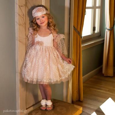 Βαπτιστικό Φόρεμα Dolce Bambini 6025