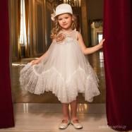 Βαπτιστικό Φόρεμα Dolce Bambini 6040