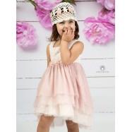 Βαπτιστικό Φόρεμα Σάπιο Μήλο Mi Chiamo Κ4139