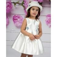 Βαπτιστικό Φόρεμα Εκρού Σιέλ Mi Chiamo Κ4151