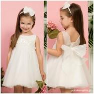 Βαπτιστικό Φόρεμα Ιβουάρ Mi Chiamo K4288E