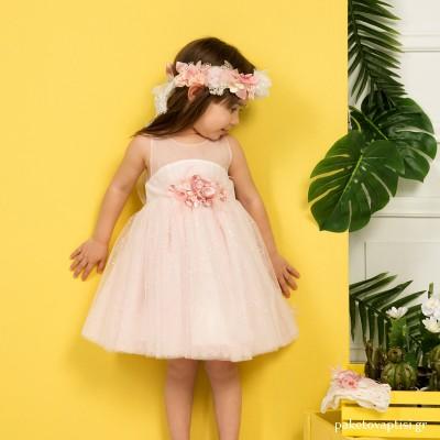 Βαπτιστικό Φόρεμα Peach Mi Chiamo K4289Ρ